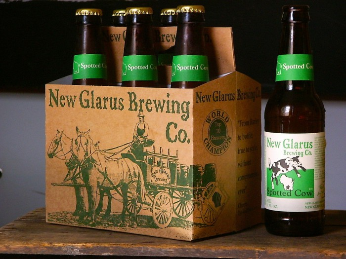 Spotted Cow beer