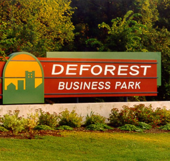 Deforest Business Park Sign